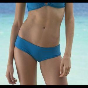 NEW $90 Mikoh Bondi Hipster Bikini Bottom Blue